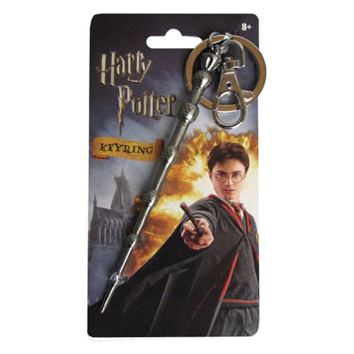 Harry Potter Dumbledore's Wand Pewter Key Chain