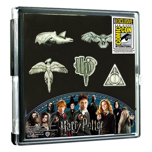 Harry Potter Pewter Pin 5-Pack - SDCC 2017 Exclusive