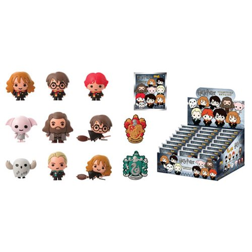 Harry Potter Kawaii Figural Key Chain Random 6-Pack