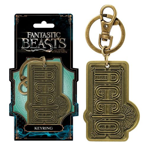 Fantastic Beasts Accico Pewter Key Chain