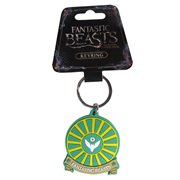 Fantastic Beasts Owl Airforce Soft Touch Key Chain