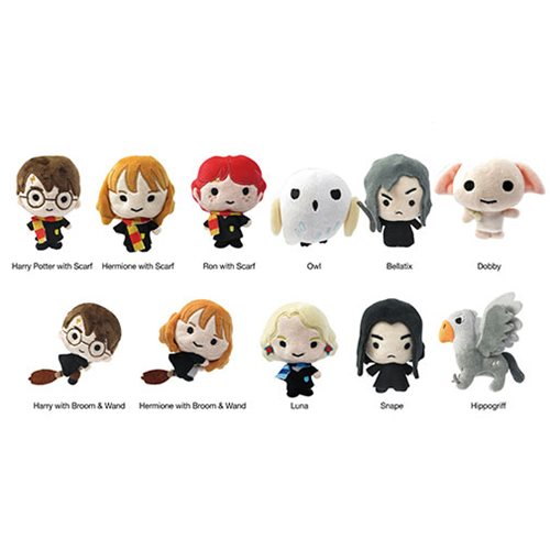 Harry Potter 3-D Plush Key Chain Random 6-Pack