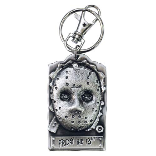 Friday the 13th Jason Voorhees Pewter Key Chain