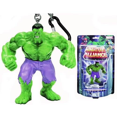 Hulk Mini Figure Key Chain