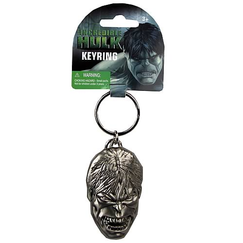 Hulk Pewter Key Chain