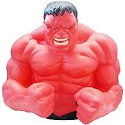 Red Hulk Vinyl Bust Bank