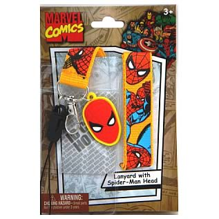 Spider-Man Head Dangle Key Chain