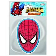 Spider-Man Head Car Magnet