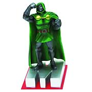Marvel Edition Dr. Doom Letter M Statue