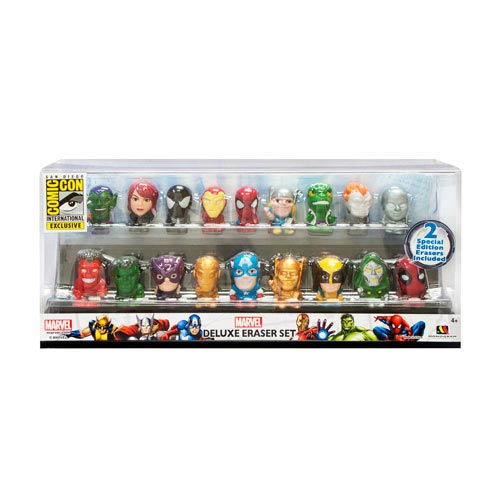 Marvel Superheroes SDCC 2013 Exclusive Eraser Set