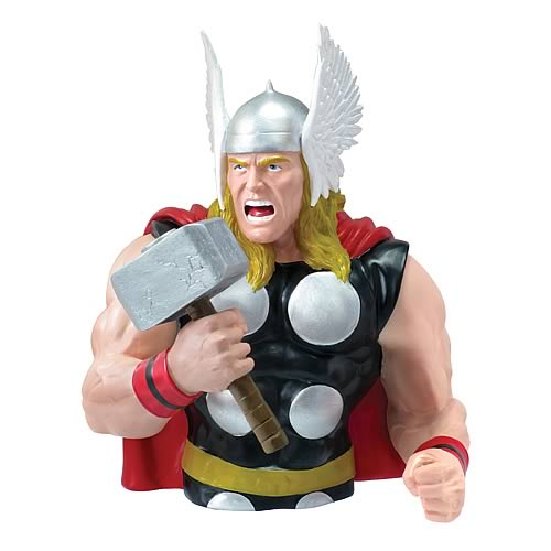 Thor 2012 SDCC Exclusive Resin Bust Bank