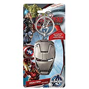 Iron Man 3 Movie Face Pewter Key Chain