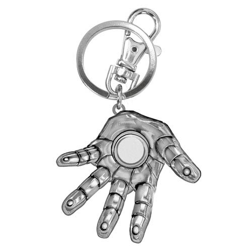 Iron Man Hand Pewter Key Chain