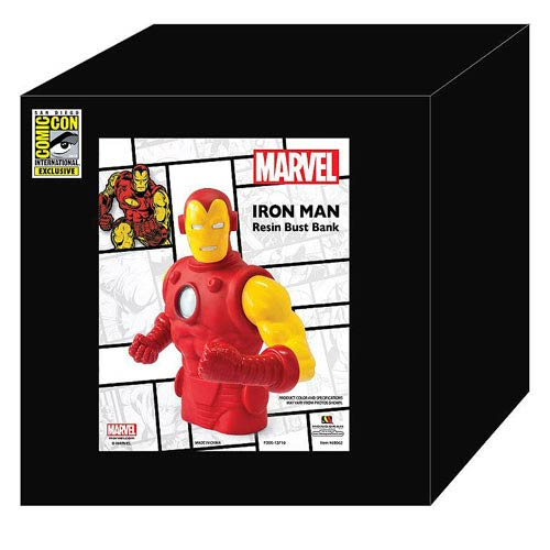 Iron Man Classic SDCC 2013 Exclusive Resin Bust Bank