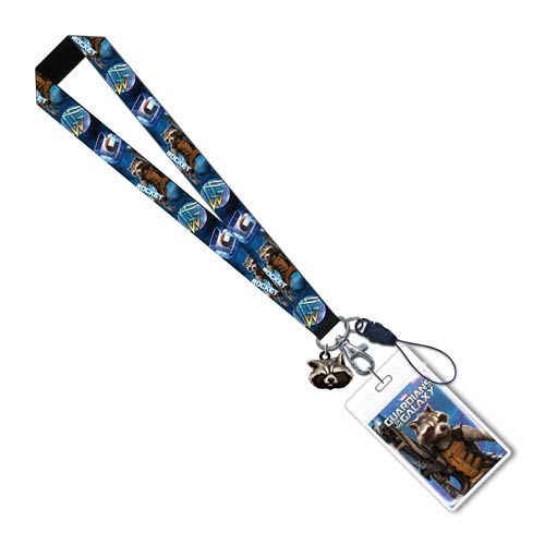 Guardians of the Galaxy Rocket Raccoon Lanyard
