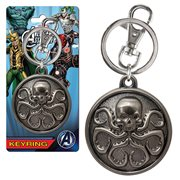 Marvel Hydra Logo Pewter Key Chain
