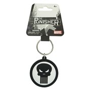 Punisher Marvel Extreme Logo Soft Touch Key Chain