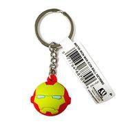 Iron Man Icon Ball Key Chain