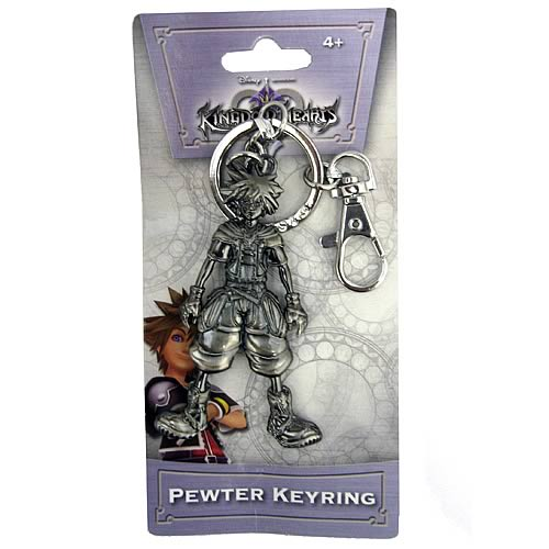 Kingdom Hearts Sora Pewter Key Chain