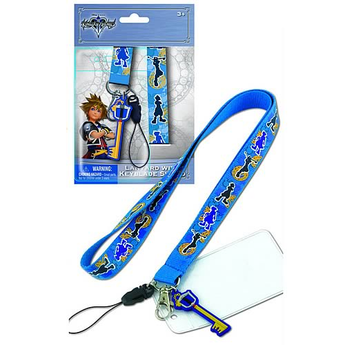 Kingdom Hearts Sword Key Lanyard