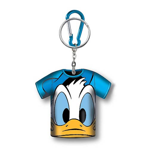 Donald Duck T-Shirt Coin Cover Key Chain