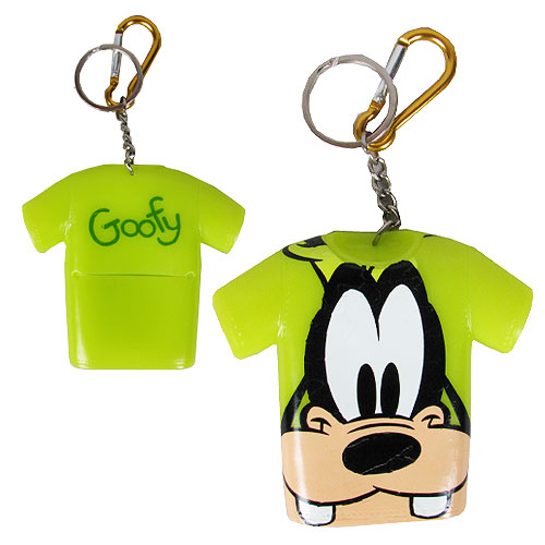 Goofy T-Shirt Coin Cover Key Chain