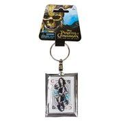 Pirates of the Caribbean Carina Smyth Acrylic Key Chain