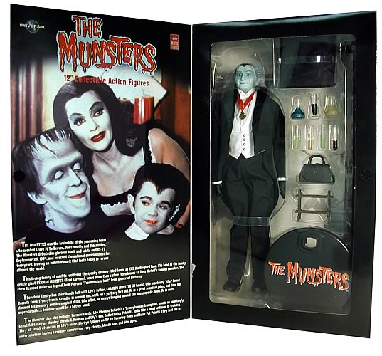 The Munsters: Grandpa Munster 1:6 Scale Figure