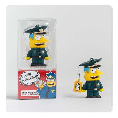 The Simpsons Police Chief Wiggum 8 GB USB Flash Drive