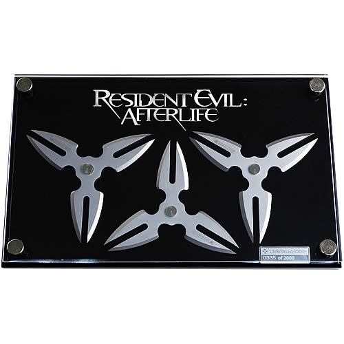 Resident Evil Alice Throwing Stars Prop Replica