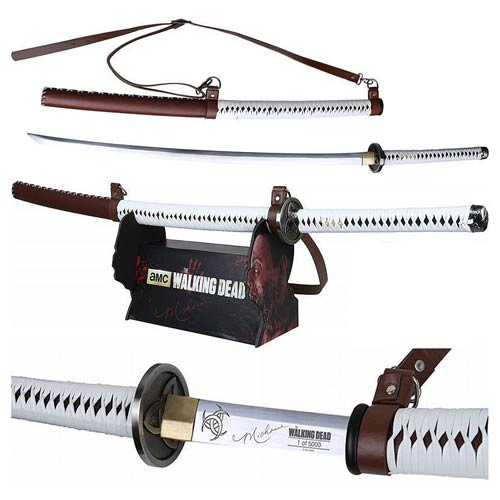 The Walking Dead Michonne Katana Signature Prop Replica