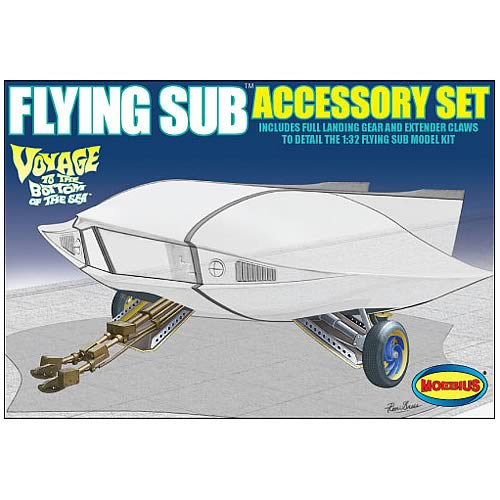 Voyage to the Bottom Flying Sub Accessory Kit
