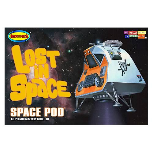 Lost in Space 1:35 Scale Space Pod Chariot Model Kit