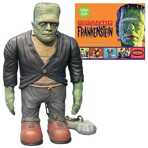 Universal Monsters Frankenstein Glow-in-Dark Model Kit