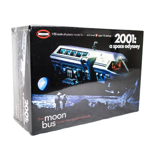 Moon Bus Model Kit