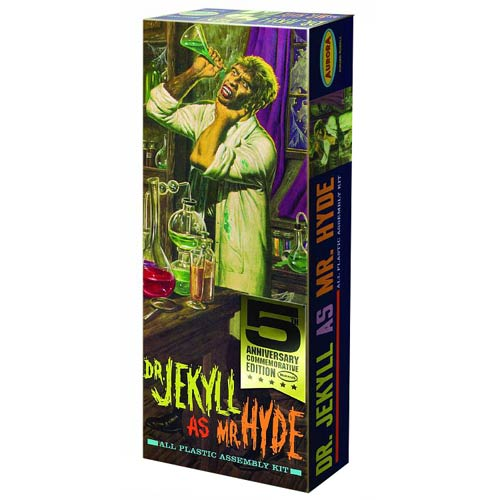 Dr. Jekyll and Mr. Hyde Jekyll as Hyde Model Kit