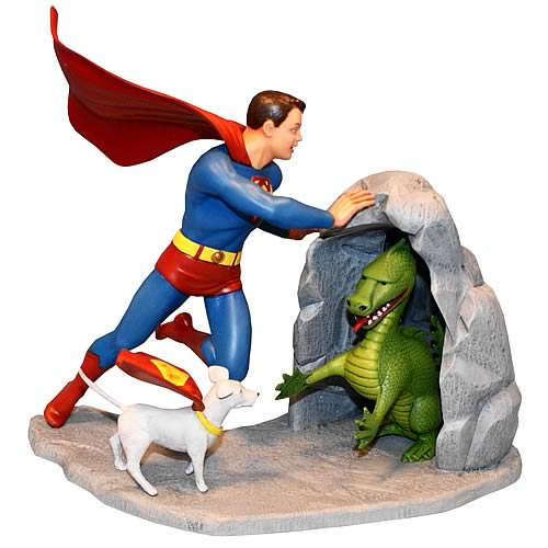 Superman Superboy and Krypto Model Kit