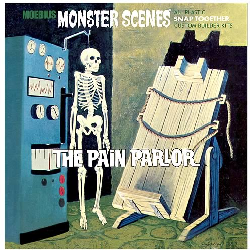 Monster Scenes Pain Parlor Model Kit