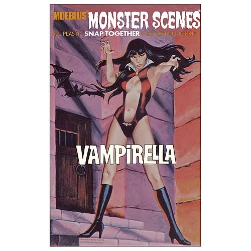 Vampirella Monster Scenes Model Kit