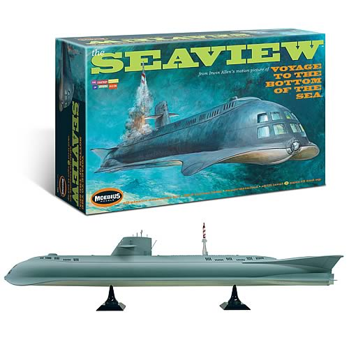 Voyage to the Bottom of the Sea 8-Window Seaview Model Kit
