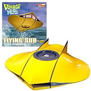 Voyage to the Bottom of the Sea Flying Sub 1:32 Model Kit