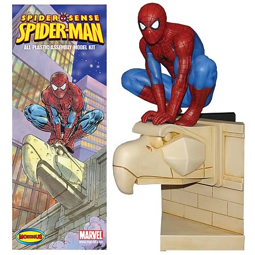 Spider-Man 1:8 Scale Model Kit