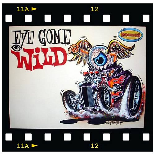 Von Franco Eye Gone Wild Model Kit