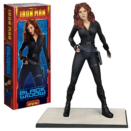 Iron Man Black Widow Model Kit