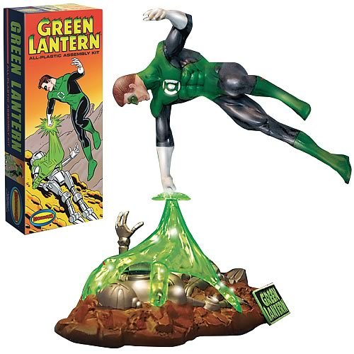 Green Lantern Comic Model Kit