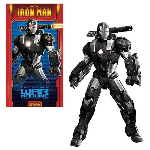 Iron Man War Machine 1:8 Scale Model Kit