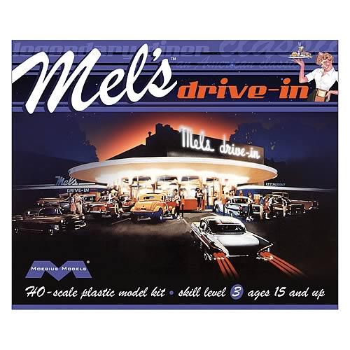 Mel's Drive-In HO Scale Model Kit