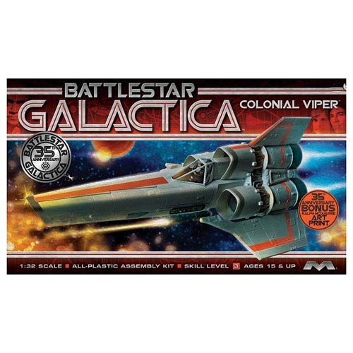 Battlestar Galactica Original MKI Viper Model Kit