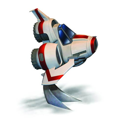 Battlestar_Galactica_Super_Deformed_Viper_MKII_Model_Kit