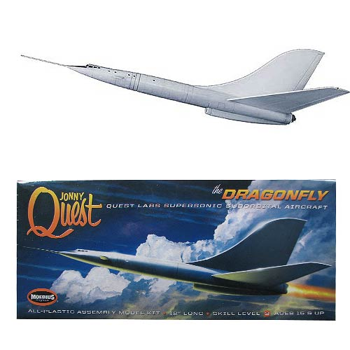 Jonny Quest Dragonfly 12-Inch Model Kit